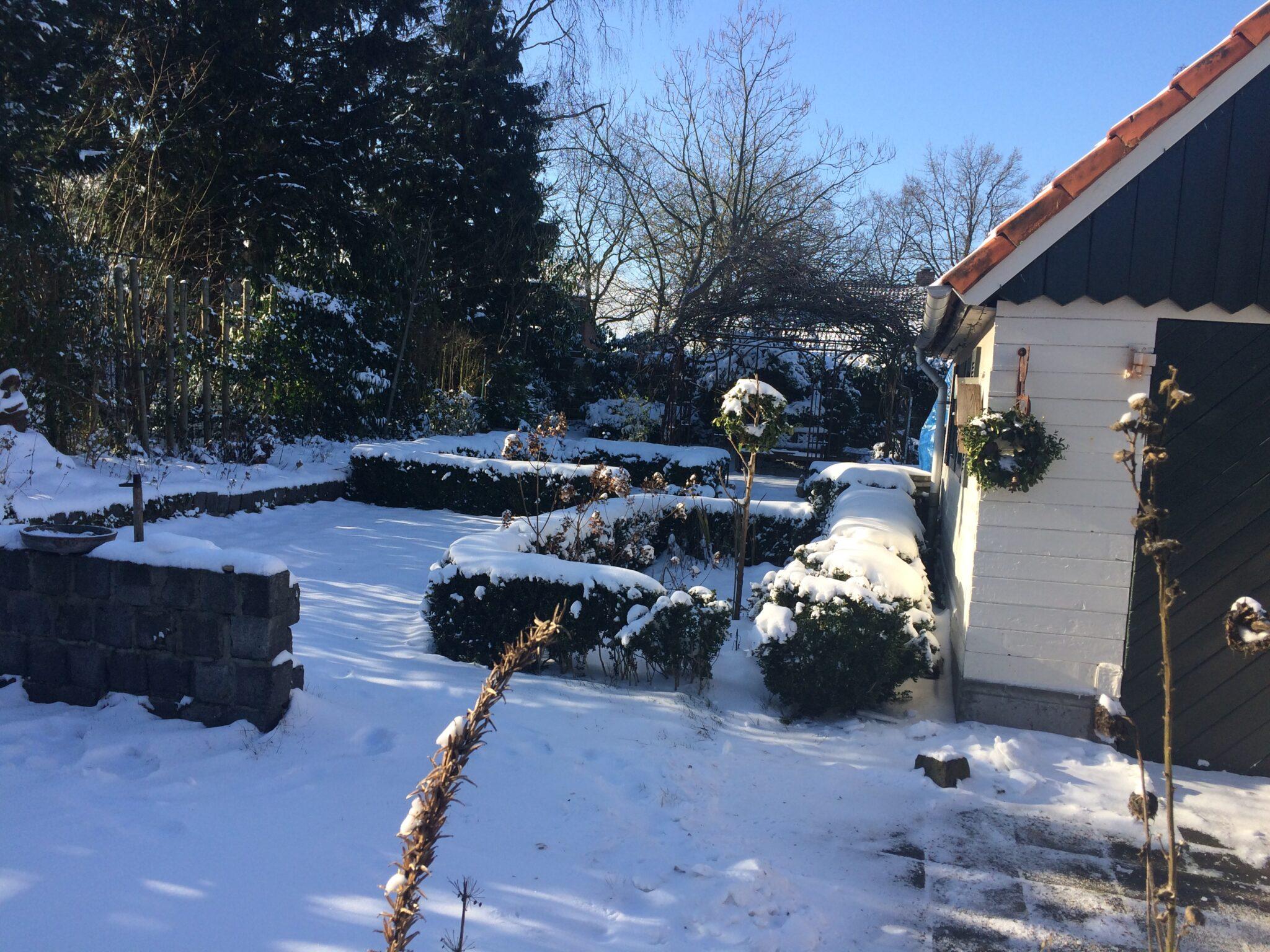 Sneeuw; uitnodiging voor naar binnen of juist naar buiten?